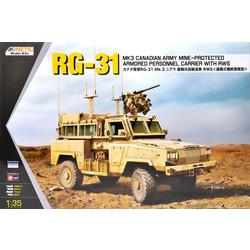 Rg-31 Mk3 Canada Army W/ Crows - Scale 1/35 - Kinetic - KIN61010