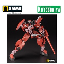 Frame Arms Plastic Model Kit - Type 34 Model 1 Jin-Rai 17 Cm - Scale 1/100 - Kotobukiya - KTOFA100