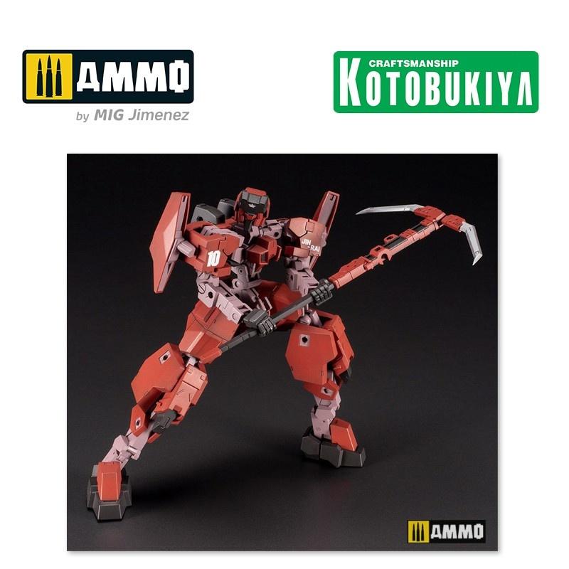 Kotobukiya Frame Arms Plastic Model Kit - Type 34 Model 1 Jin-Rai 17 Cm - Scale 1/100 - Kotobukiya - KTOFA100