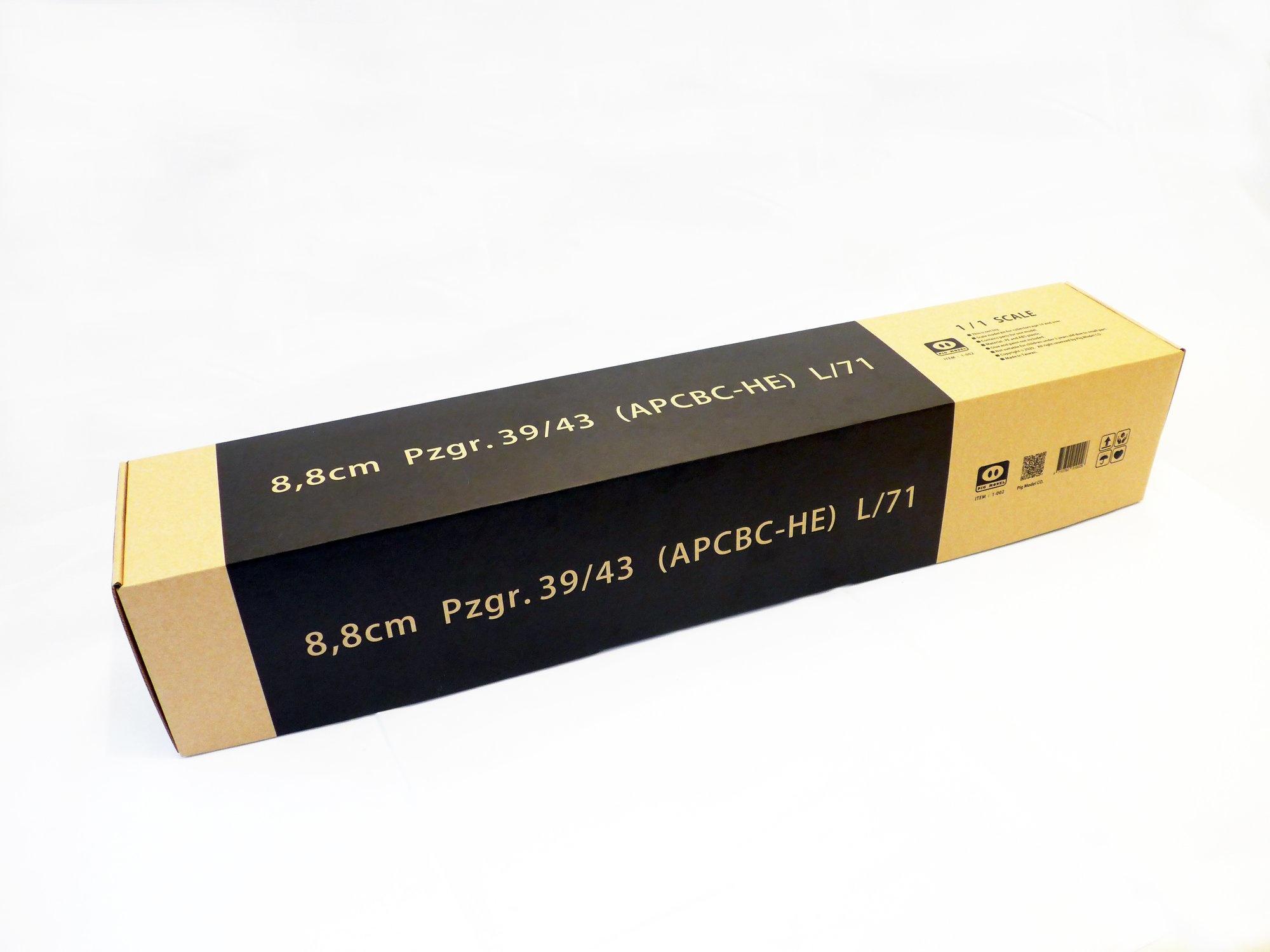 Pig Models 8.8Cm Pzgr.39/43 (Apcbc-He) L71 - Scale 1/1 - Pig Models - PMODEL002