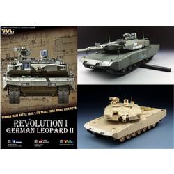 LeopardIIRevolutionMbt - Tiger Model - Scale 1/35 - TIGE4629