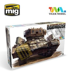 NagmachonDoghouse-Early - Tiger Model - Scale 1/35 - TIGE4624