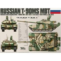 T-90Ms Mbt - Tiger Model - Scale 1/35 - TIGE4612