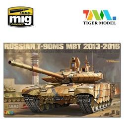 T-90Ms Mbt 2013-2015 - Tiger Model - Scale 1/35 - TIGE4610
