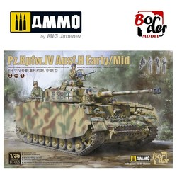 Panzer Iv H Early & Middle - Scale 1/35 - Border Models - BT005