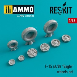 "F-15 (A/B) ""Eagle"" wheels set  - Scale 1/48 - Reskit - RS48-0020"