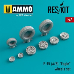 "F-15 (E/I/K) ""Strike Eagle"" wheels set  - Scale 1/48 - Reskit - RS48-0021"