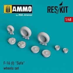 "F-16 (I) ""Sufa"" wheels set  - Scale 1/48 - Reskit - RS48-0026"