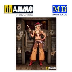 Marshal Jessie - Scale 1/24 - Masterbox Ltd - MBLTD24018