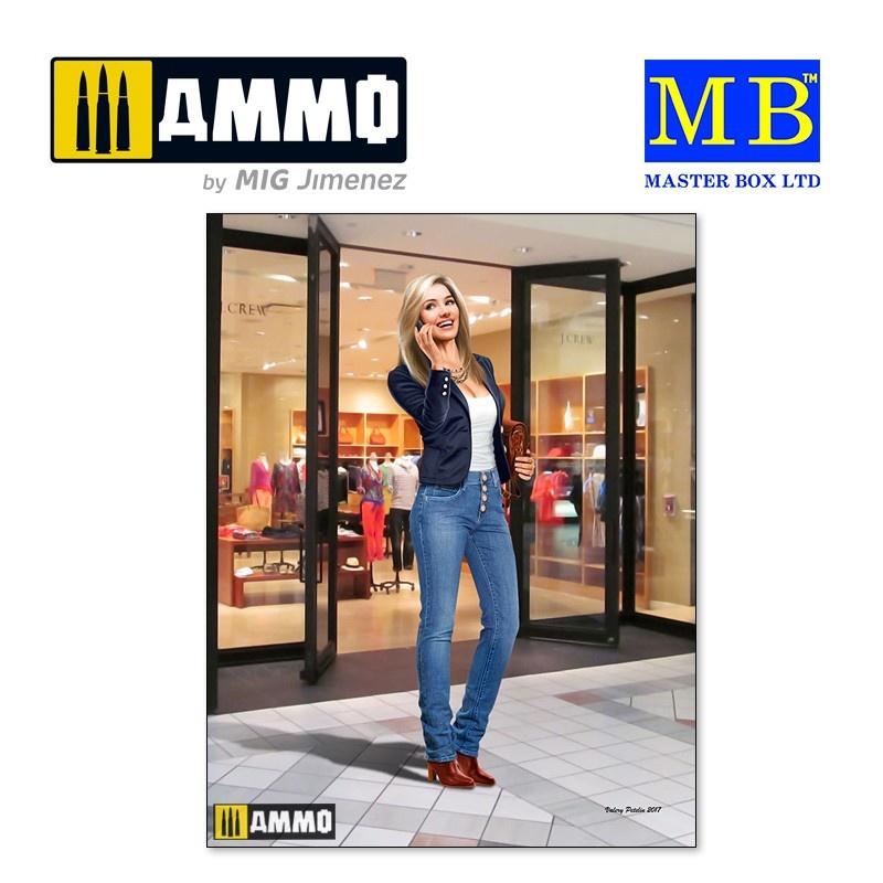 Master Box Ltd Kate – I'll Be Right There - Scale 1/24 - Masterbox Ltd - MBLTD24026