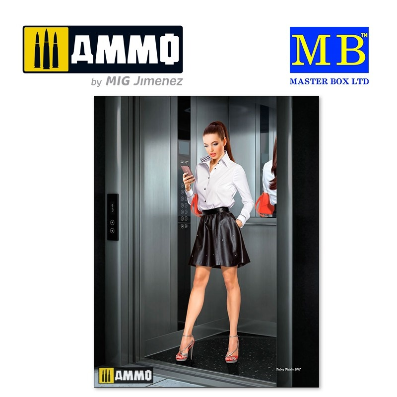 Master Box Ltd Ali – Status Check - Scale 1/24 - Masterbox Ltd - MBLTD24028