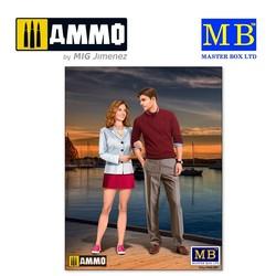 Bob and Sally - The Happy Couple - Scale 1/24 - Masterbox Ltd - MBLTD24029