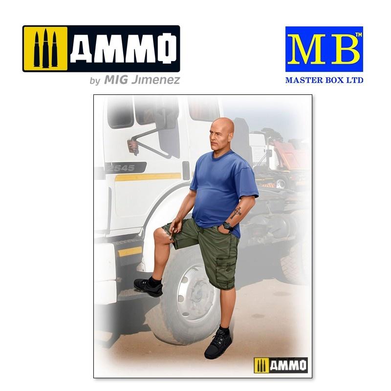Master Box Ltd Jimmy (Tex) Haywood. - Scale 1/24 - Masterbox Ltd - MBLTD24043