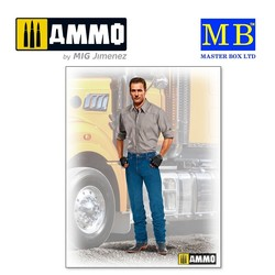Stan (Long Haul) Thompson - Scale 1/24 - Masterbox Ltd - MBLTD24042