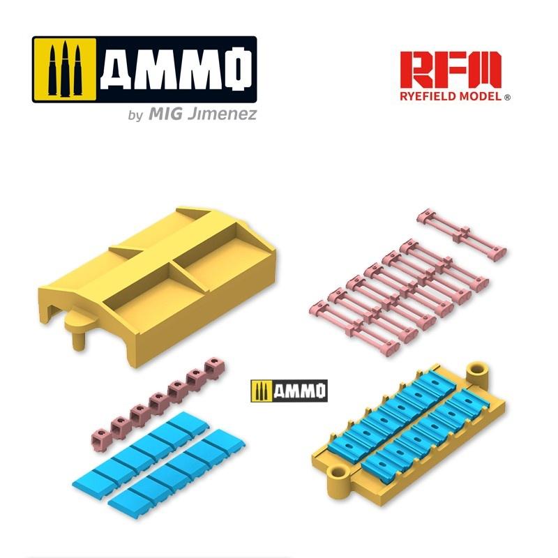 Rye Field Models Hvss t80-track for M4 Sherman - Scale 1/35 - Reye Field Models - RFM5034