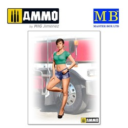 Looking for a long haul partner, Mindy - Scale 1/24 - Masterbox Ltd - MBLTD24061