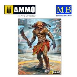 Beastorian Champion – Chuck AKA Nifrath. Strange Company's Adventures. Episode III. Future Crew Members. - Scale 1/24 - Masterbox Ltd - MBLTD24057