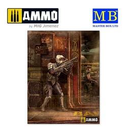 Laurie Lightning Bolt Barnes - Scale 1/24 - Masterbox Ltd - MBLTD24055