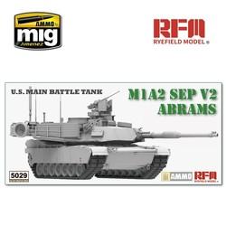 M1A2 SEP V2 Abrams - Scale 1/35 - Reye Field Models - RFM5029