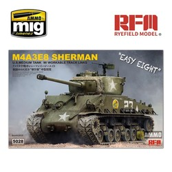 Sherman M4A3E8 with Workable Track Links - Scale 1/35 - Reye Field Models - RFM5028