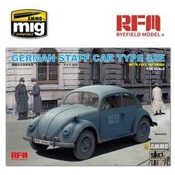 German Staff Car Type 82E - Scale 1/35 - Reye Field Models - RFM5023