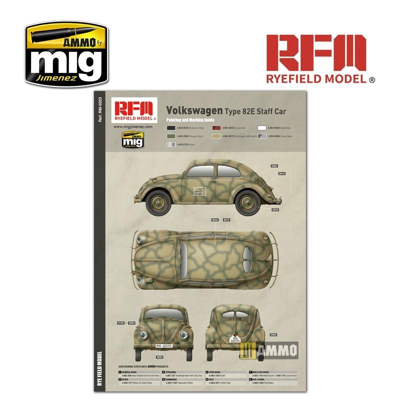 Reye Field Models German Staff Car Type 82E - Scale 1/35 - Reye Field Models - RFM5023