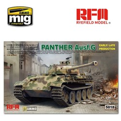 Panther Ausf.G Early / Late Productions - Scale 1/35 - Reye Field Models - RFM5018