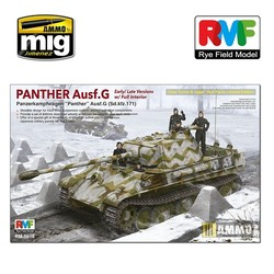 Panther Ausf.G with Interior Limited Edition - Scale 1/35 - Reye Field Models - RFM5016