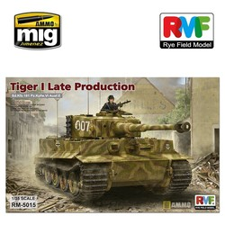 Tiger I Late Production  - Scale 1/35 - Reye Field Models - RFM5015