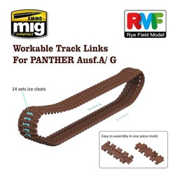 Workable Tracks for Panther A & G - Scale 1/35 - Reye Field Models - RFM5014