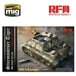 Sturmtiger With Full Interior - Scale 1/35 - Reye Field Models - RFM5012
