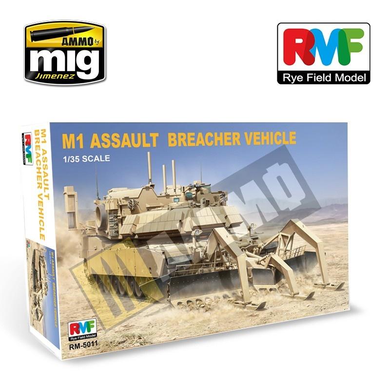 Reye Field Models M1 Assault  Breacher Vehicle - Scale 1/35 - Reye Field Models - RFM5011