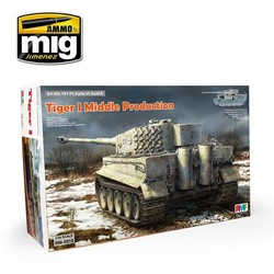 Tiger I Middle Production Full Interior - Scale 1/35 - Reye Field Models - RFM5010
