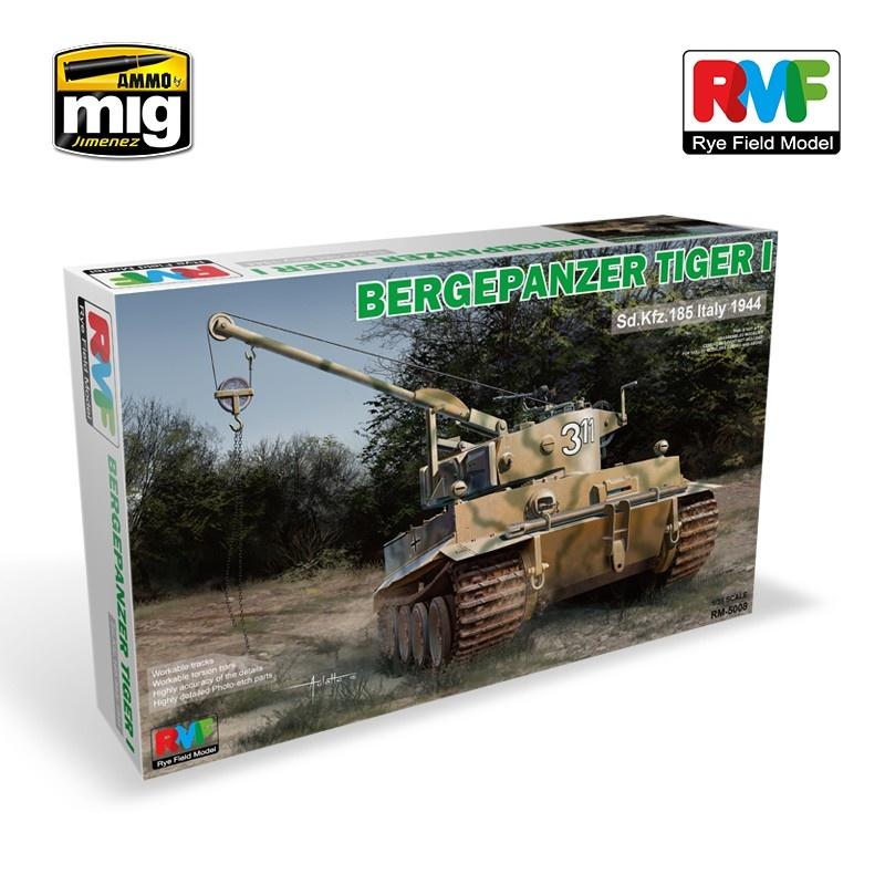 Rye Field Models Bergepanzer Tiger I - Scale 1/35 - Reye Field Models - RFM5008
