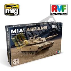 M1A1 Abrams Gulf War 1991 - Scale 1/35 - Reye Field Models - RFM5006