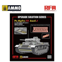 Upgrade Kit For PZ.III AUSF.J (for  RFM5070) - Scale 1/35 - Reye Field Models - RM2005
