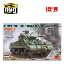 "British Sherman VC ""Velikiye Luki"" with Workable Track Links - Scale 1/35 - Reye Field Models - RFM5038"