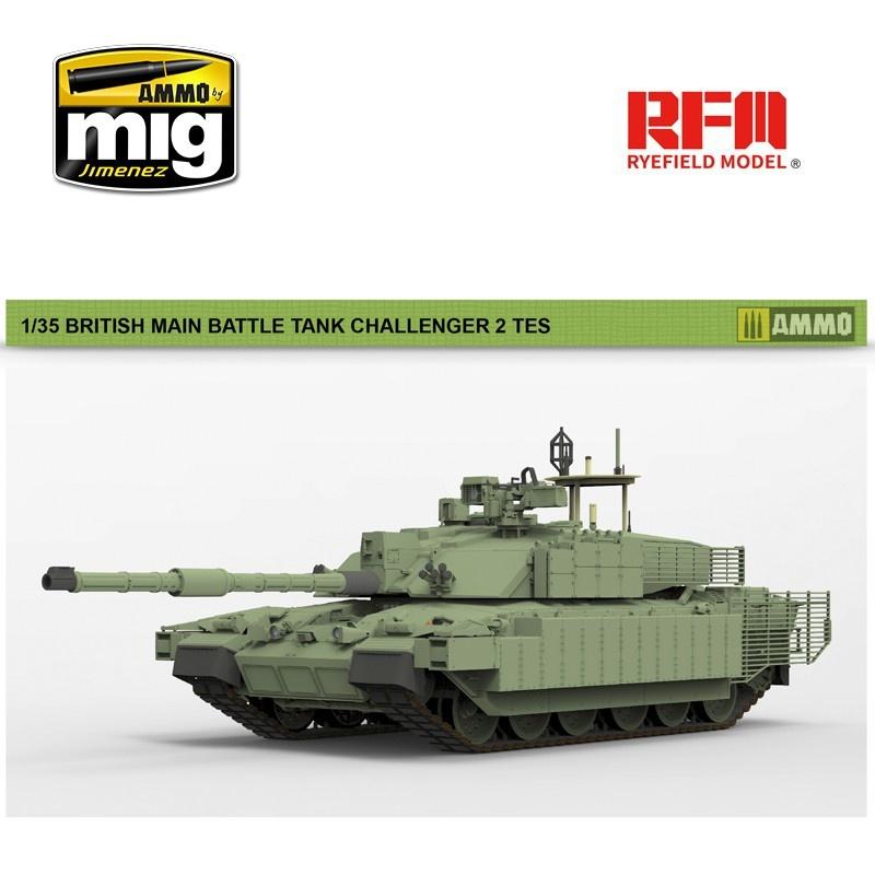 Rye Field Models British Main Battle Tank Challenger 2 TES - Scale 1/35 - Reye Field Models - RFM5039
