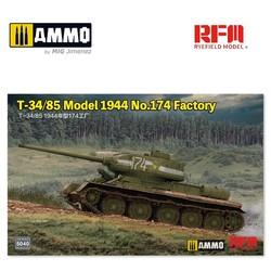 T-34/85 Model 1944 No.174 Factory - Scale 1/35 - Reye Field Models - RFM5040