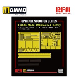 Upgrade Kit for T-34/85 Model 1944 No.174 Factory (for RFM 5040) - Scale 1/35 - Reye Field Models - RM2004
