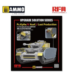 Upgrade Kit for PZ.KPFW.IV AUSF.J Late Production (for RFM5033 & RFM5043) - Scale 1/35 - Reye Field Models - RM2003