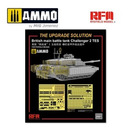 Upgrade Kit For Challenger 2 TES - Scale 1/35 - Reye Field Models - RM2001