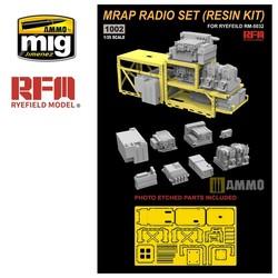 MRAP Radio Set (Resin Kit) - Scale 1/35 - Reye Field Models - RM1002