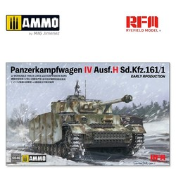 Pz.kpfw.IV Ausf.H Early Production with Workable Track Links  - Scale 1/35 - Reye Field Models - RFM5046
