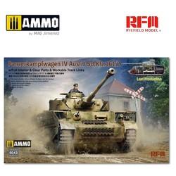 Pz. Kpfw. IV Ausf. J Last Production w/full interior  - Scale 1/35 - Reye Field Models - RFM5043