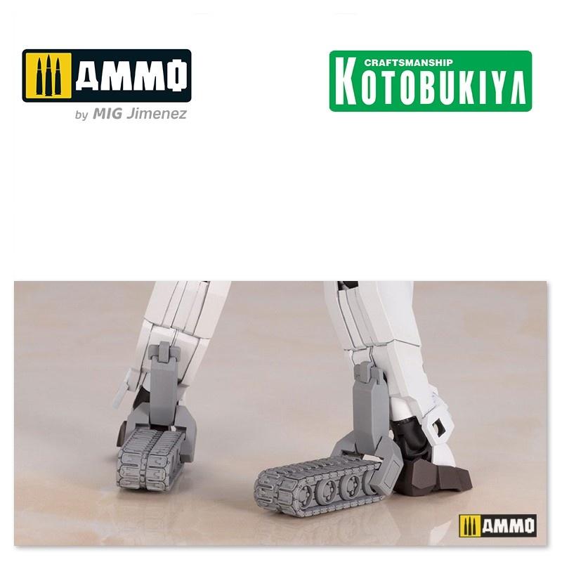 Kotobukiya Frame Arms Girl Plastic Model Kit Gourai-Kai White Version - 140mm - Kotobukiya - KTOFG032