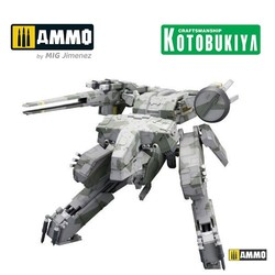 Metal Gear Solid Plastic Model Kit - Metal Gear Rex - Scale 1/100 - Kotobukiya - KTOKP221