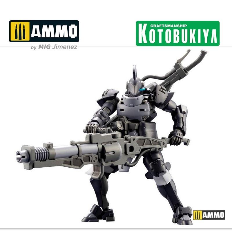 Kotobukiya Hexa Gear Plastic Model Kit - Governor Armor Type Knight Nero - Scale 1/24 - Kotobukiya - KTOHG057