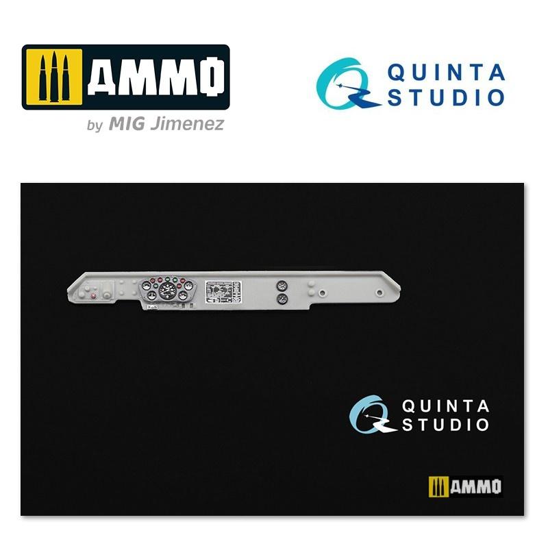 Quinta Studio GAZ-66 Family 3D-Printed & coloured Interior on decal paper - Scale 1/35 - Quinta Studio - QD35002