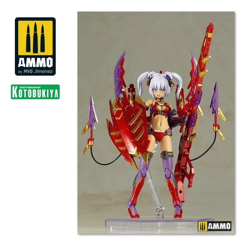 Kotobukiya Frame Arms Girl Plastic Model Kit Hresvelgr = Rufus (Agito) - 150mm - Kotobukiya - KTOFG076